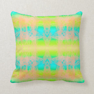 green blue cushion