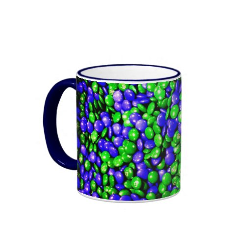 Green & Blue Dummies coffee mug