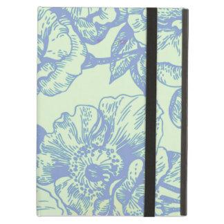 Green & Blue Vintage Floral iPad Air Case