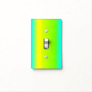 Green, Blue, Yellow Gradient Design - Light Switch
