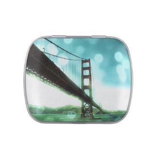 Green Bokeh Golden Gate Bridge