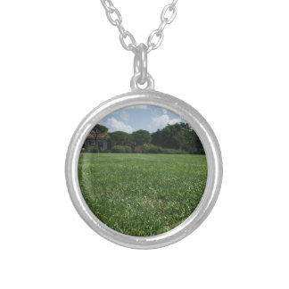 Green Bosphorus U. Silver Plated Necklace