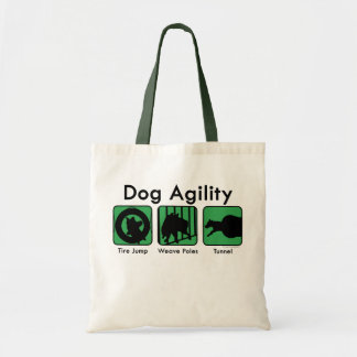 Green Boxes Dog Agility Bag