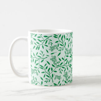 Green Branches & Leaves Classic Mug