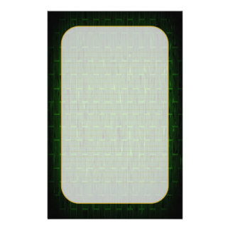 """""""Green Brick"""" Fine Lined Stationery"""