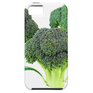 Green Broccoli Crowns on White Case For The iPhone 5