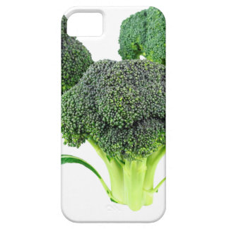 Green Broccoli Crowns on White iPhone 5 Case