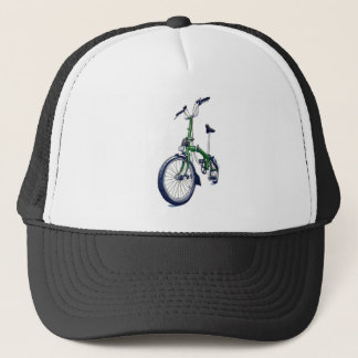 Green Brompton bicycle Trucker Hat