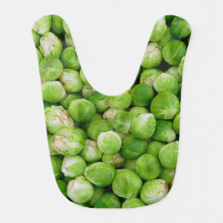 Green brussels sprouts bib