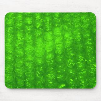 Green Bubble Wrap Effect Mouse Pad