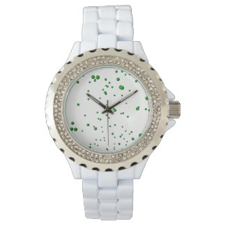 Green Bubbles Watch