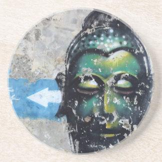 Green Buddha Coaster