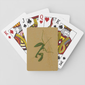 Green bug poker deck