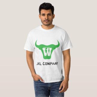Green Bull Logo Letter W Initial Tshirt