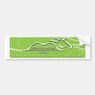 Green bumper sticker