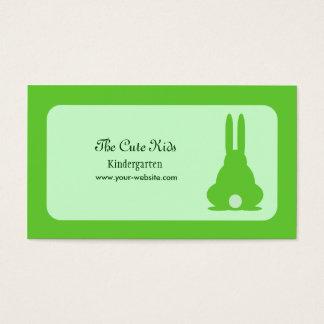 Green Bunny Business Card