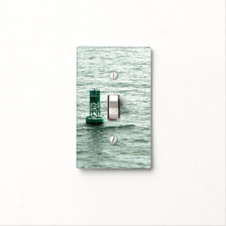 Green Buoy Light Switch Cover