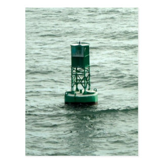 Green Buoy Postcard