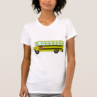 Green Bus Womens T-Shirt