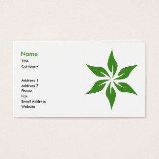 Green Business Card 3