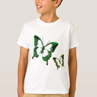 Green Butterflies Children's T-Shirt