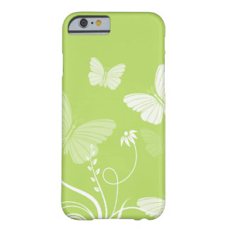 Green butterflies iPhone 6 case Barely There iPhone 6 Case