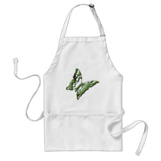 Green Butterfly Designs Apron