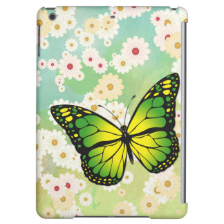 Green butterfly iPad air cover