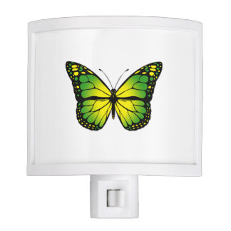 Green butterfly night lite
