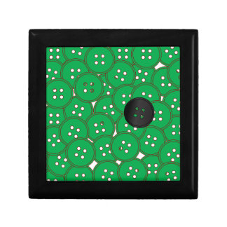 Green Buttons Gift Box