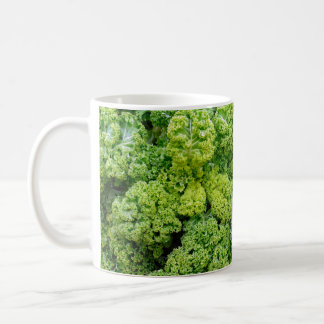Green cabbage coffee mug
