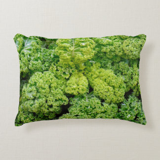 Green cabbage decorative pillow