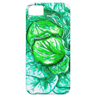 Green Cabbage Watercolor 2 Case For The iPhone 5