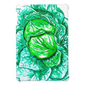Green Cabbage Watercolor 2 iPad Mini Cover