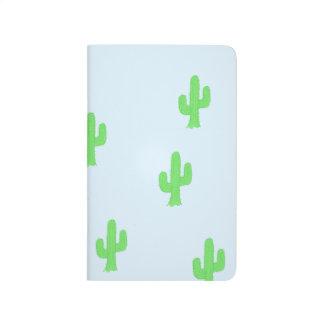 Green cactus journal