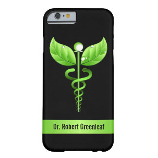 Green Caduceus Alternative Medicine Medical Symbol Barely There iPhone 6 Case