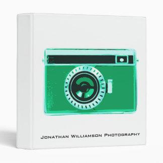 Green Camera Photography Business Binder