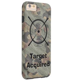 Green Camo Camouflage Shooting Gun Target Manly Tough iPhone 6 Plus Case