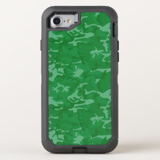 Green Camo OtterBox Defender iPhone 8/7 Case