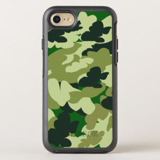 Green camo OtterBox symmetry iPhone 8/7 case