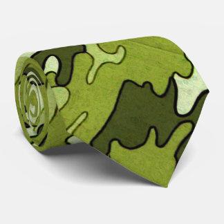 Green Camo Tie