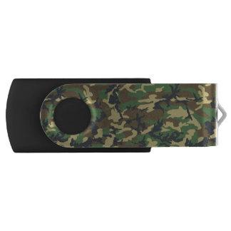 Green Camo USB Flash Drive