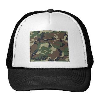 Green Camouflage camo Trucker Hat