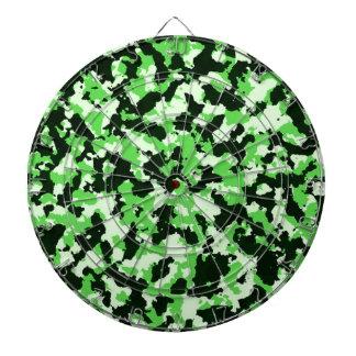 Green Camouflage Dartboard