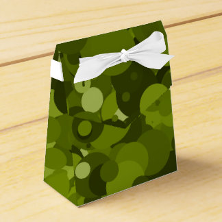 Green Camouflage Favor Box