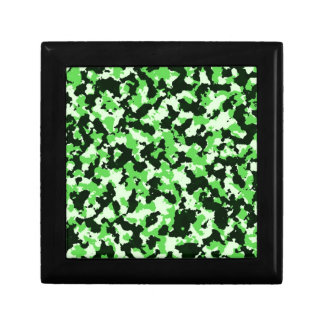 Green Camouflage Gift Box