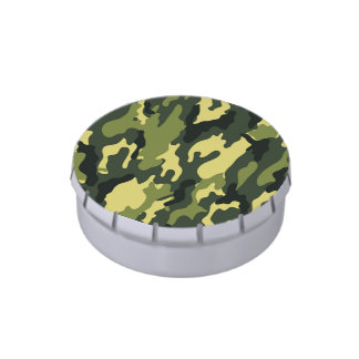 Green camouflage | Jelly Belly Tins