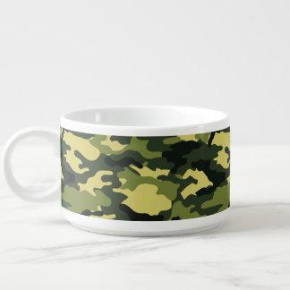 Green Camouflage Pattern Chili Bowl