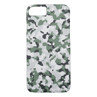 Green camouflage pattern iPhone 8/7 case