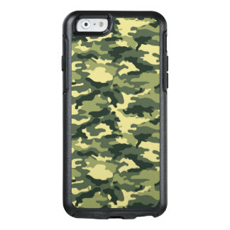 Green Camouflage Pattern OtterBox iPhone 6/6s Case